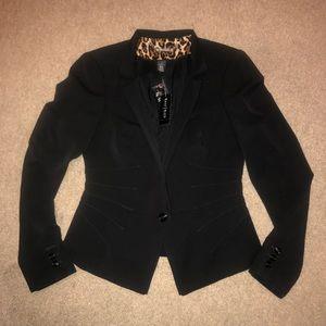 White House Black Market Darted Jacket Blazer, 4